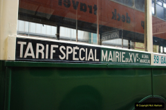 2019-06-02 MBF Meeting on the IOW. (175) The IOW Ryde Bus Museum. Paris bus and other Paris bus items. 176