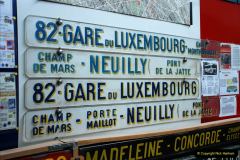 2019-06-02 MBF Meeting on the IOW. (176) The IOW Ryde Bus Museum. Paris bus and other Paris bus items. 177