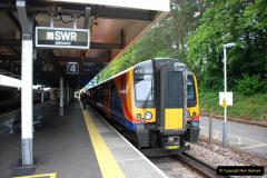 2019-06-02 MBF Meeting on the IOW. (22) Brockenhurst. The Lymington branch train. 023