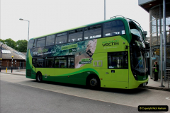 2019-06-02 MBF Meeting on the IOW. (48) Three different buses to get to the Ryde Bus Museun for the meeting. 049