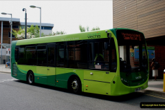 2019-06-02 MBF Meeting on the IOW. (50) Three different buses to get to the Ryde Bus Museun for the meeting. 051
