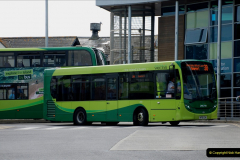 2019-06-02 MBF Meeting on the IOW. (51) Three different buses to get to the Ryde Bus Museun for the meeting. 052