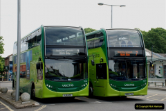 2019-06-02 MBF Meeting on the IOW. (53) Three different buses to get to the Ryde Bus Museun for the meeting. 054