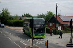 2019-06-02 MBF Meeting on the IOW. (57) Three different buses to get to the Ryde Bus Museun for the meeting. 058