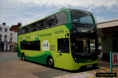 2019-06-02 MBF Meeting on the IOW. (61) Three different buses to get to the Ryde Bus Museun for the meeting. 062