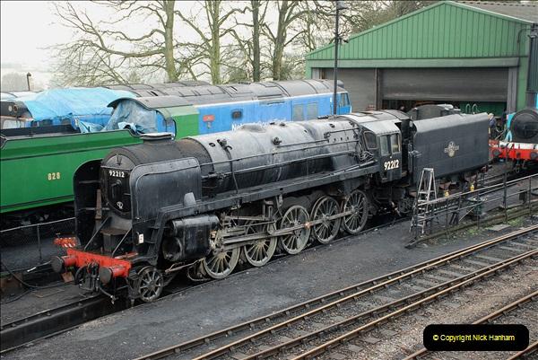2019-02-06 Mid Hants Railway at Ropley. (15) 15