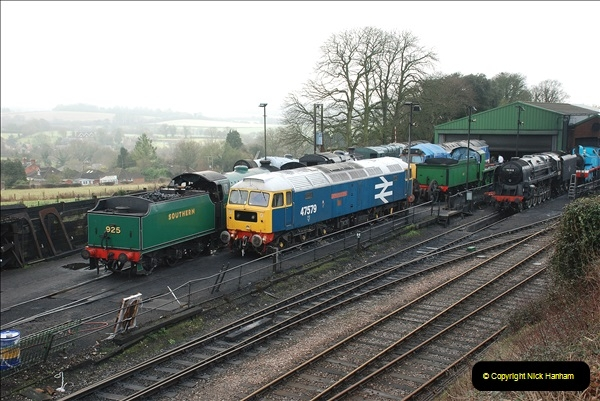 2019-02-06 Mid Hants Railway at Ropley. (17) 17