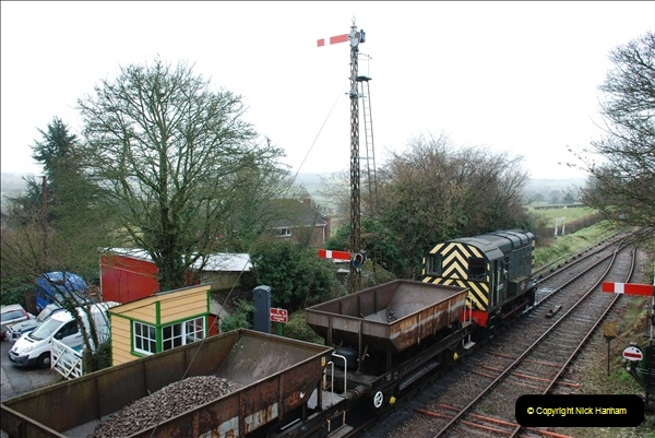 2019-02-06 Mid Hants Railway at Ropley. (6) 06