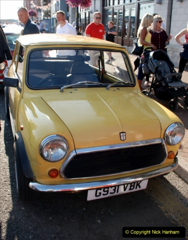 2019-07-12 Minis on Poole Quay. (37) 001