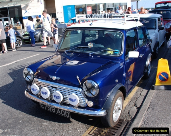 2019-07-12 Minis on Poole Quay. (4) 001
