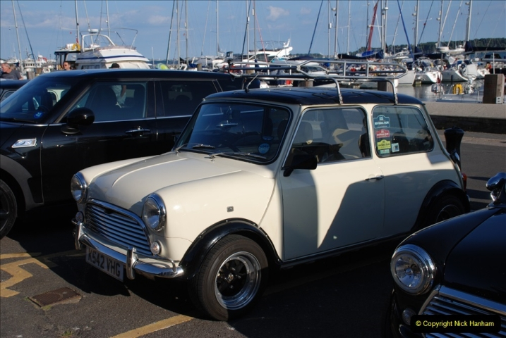 2019-07-12 Minis on Poole Quay. (88) 001