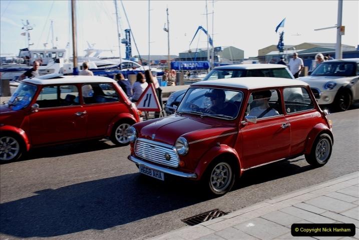 2019-07-12 Minis on Poole Quay. (99) 001