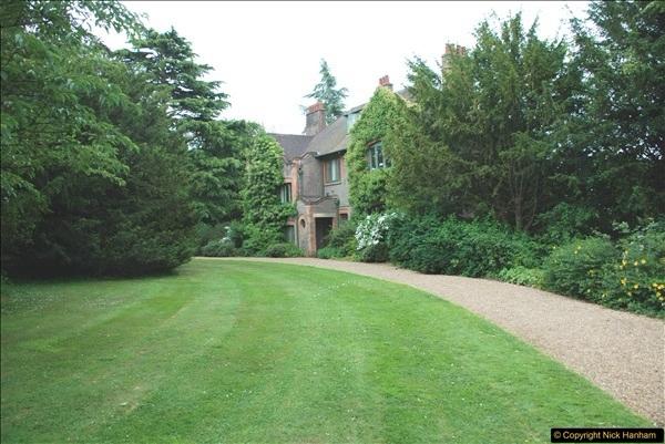 2018-06-20 George Bernard Shaw's House. NT Shaw's Corner, Ayot St. Lawrence, Hertfordshire.   (2)417