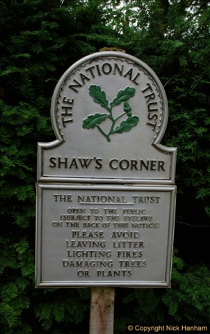 2018-06-20 George Bernard Shaw's House. NT Shaw's Corner, Ayot St. Lawrence, Hertfordshire.   (32)447