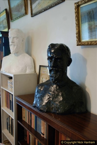 2018-06-20 George Bernard Shaw's House. NT Shaw's Corner, Ayot St. Lawrence, Hertfordshire.   (9)424