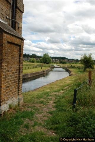 2018-06-20 Ware to Heartford East River Lea, Hertfordshire walk.  (28)475