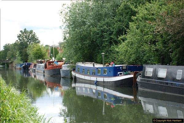 2018-06-20 Ware to Heartford East River Lea, Hertfordshire walk.  (42)489
