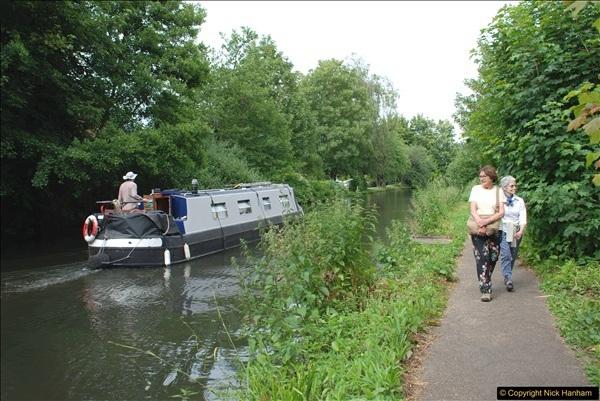 2018-06-20 Ware to Heartford East River Lea, Hertfordshire walk.  (48)495