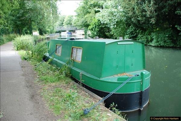 2018-06-20 Ware to Heartford East River Lea, Hertfordshire walk.  (9)456