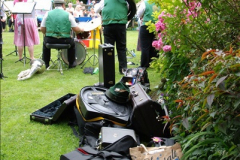 2015-08-09 Open Garden in aid of the Dorset Cancer Centre Holt, Wimborne, Dorset. (33)049