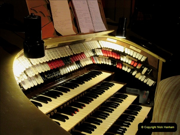 2019 March 16 Bournemouth Pavilion Theatre 90 Years. (12) Behind the scenes tour. The Compton Organ. 12