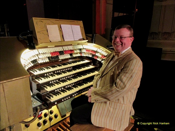 2019 March 16 Bournemouth Pavilion Theatre 90 Years. (2) Behind the scenes tour. The Compton Organ. 02