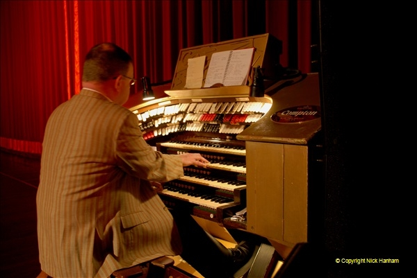 2019 March 16 Bournemouth Pavilion Theatre 90 Years. (8) Behind the scenes tour. The Compton Organ. 08