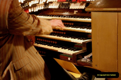 2019 March 16 Bournemouth Pavilion Theatre 90 Years. (10) Behind the scenes tour. The Compton Organ. 10