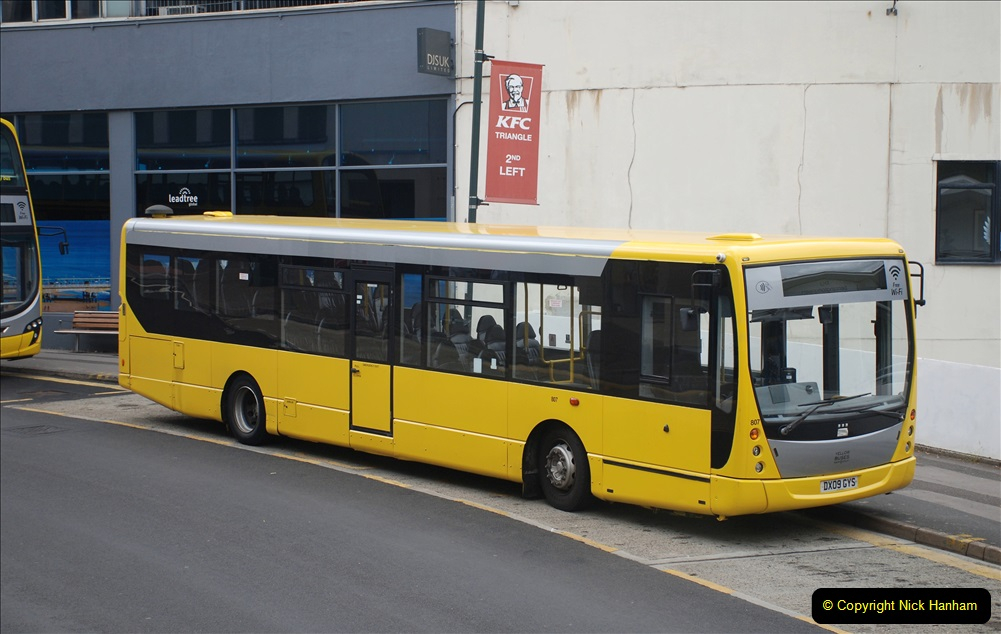 2019-07-18 More Yellow Buses Number 2 (103) Bournemouth Square 1230 to 1330 and journey home. 103