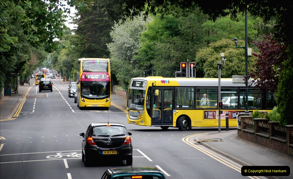 2019-07-18 More Yellow Buses Number 2 (106) Bournemouth Square 1230 to 1330 and journey home. 106