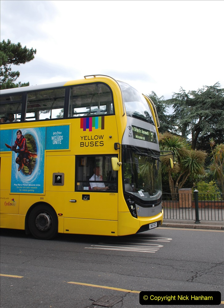 2019-07-18 More Yellow Buses Number 2 (23) Bournemouth Square 1230 to 1330 and journey home. 023