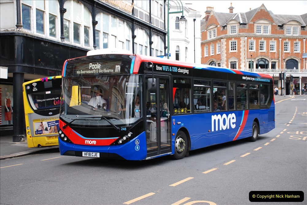 2019-07-18 More Yellow Buses Number 2 (77) Bournemouth Square 1230 to 1330 and journey home. 077