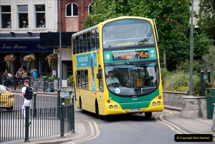 2019-07-18 More Yellow Buses Number 2 (10) Bournemouth Square 1230 to 1330 and journey home. 010