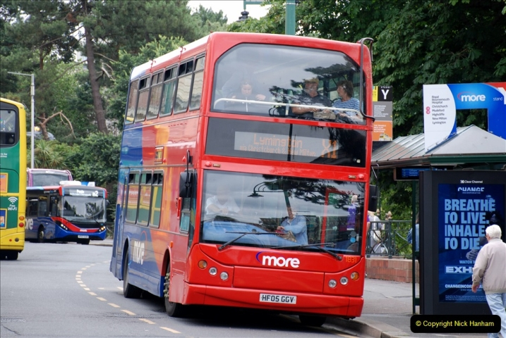 2019-07-18 More Yellow Buses Number 2 (11) Bournemouth Square 1230 to 1330 and journey home. 011