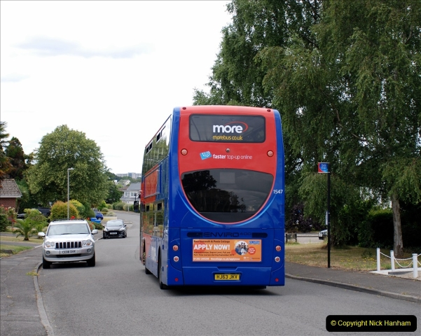 2019-07-18 More Yellow Buses Number 2 (116) Bournemouth Square 1230 to 1330 and journey home. 116