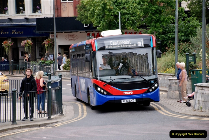 2019-07-18 More Yellow Buses Number 2 (15) Bournemouth Square 1230 to 1330 and journey home. 015