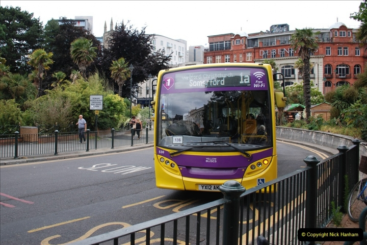 2019-07-18 More Yellow Buses Number 2 (18) Bournemouth Square 1230 to 1330 and journey home. 018