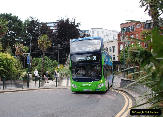 2019-07-18 More Yellow Buses Number 2 (19) Bournemouth Square 1230 to 1330 and journey home. 019