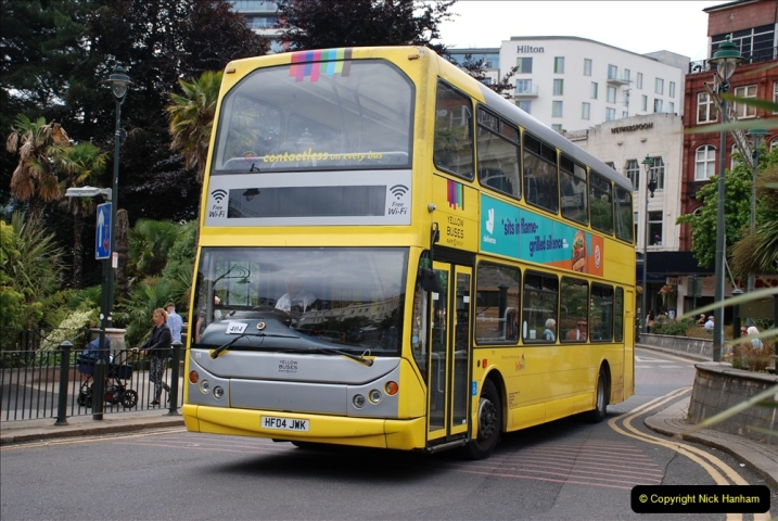 2019-07-18 More Yellow Buses Number 2 (26) Bournemouth Square 1230 to 1330 and journey home. 026