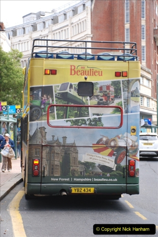 2019-07-18 More Yellow Buses Number 2 (34) Bournemouth Square 1230 to 1330 and journey home. 034