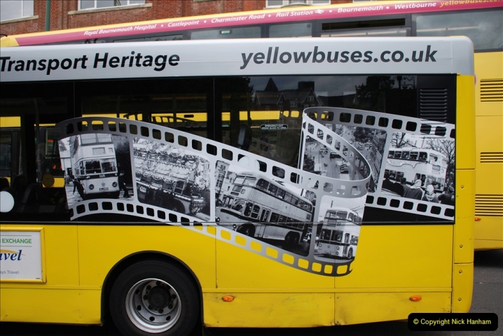 2019-07-18 More Yellow Buses Number 2 (67) Bournemouth Square 1230 to 1330 and journey home. 067