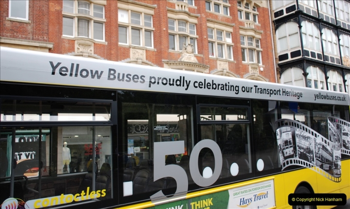 2019-07-18 More Yellow Buses Number 2 (68) Bournemouth Square 1230 to 1330 and journey home. 068
