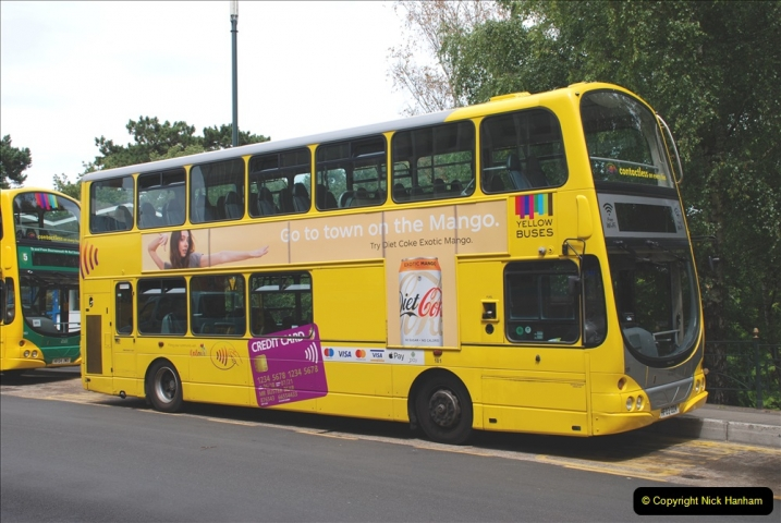 2019-07-18 More Yellow Buses Number 2 (7) Bournemouth Square 1230 to 1330 and journey home. 007