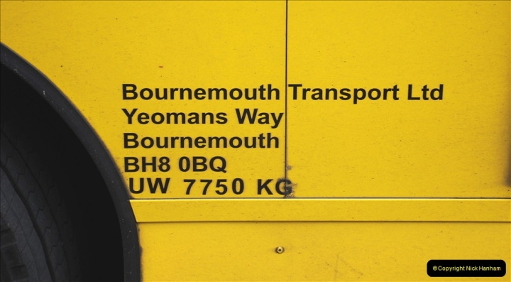 2019-07-18 More Yellow Buses Number 2 (76) Bournemouth Square 1230 to 1330 and journey home. 076