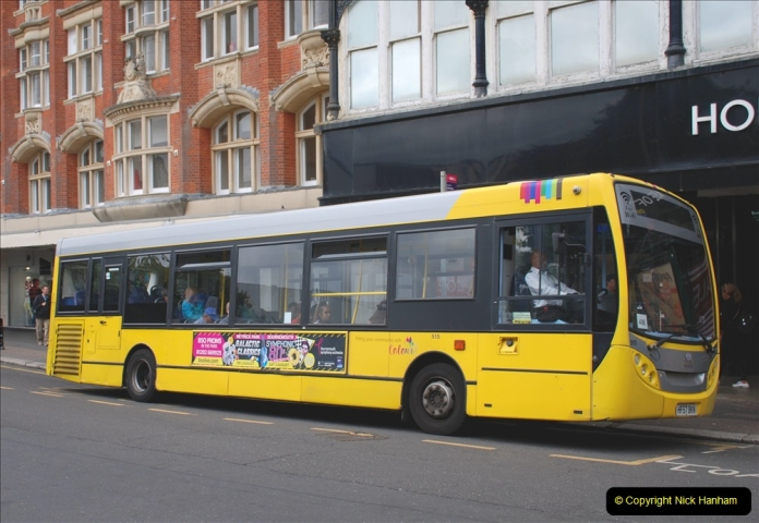 2019-07-18 More Yellow Buses Number 2 (84) Bournemouth Square 1230 to 1330 and journey home. 084