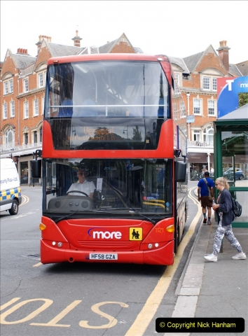 2019-07-18 More Yellow Buses Number 2 (87) Bournemouth Square 1230 to 1330 and journey home. 087