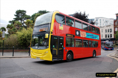 2019-07-18 More Yellow Buses Number 2 (24) Bournemouth Square 1230 to 1330 and journey home. 024