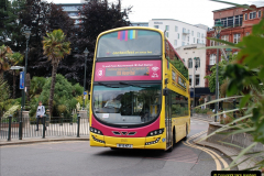 2019-07-18 More Yellow Buses Number 2 (27) Bournemouth Square 1230 to 1330 and journey home. 027