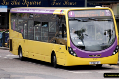 2019-07-18 More Yellow Buses Number 2 (48) Bournemouth Square 1230 to 1330 and journey home. 048