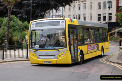 2019-07-18 More Yellow Buses Number 2 (49) Bournemouth Square 1230 to 1330 and journey home. 049